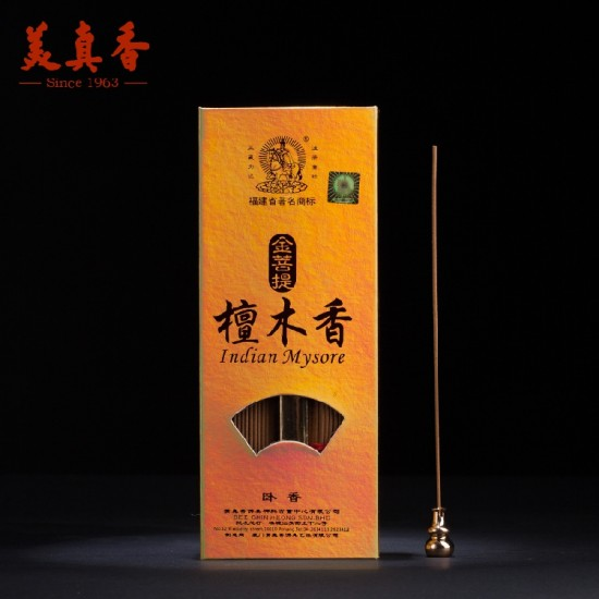 Bee Chin Heong Indian Mysore Sandalwood Incense | 18 cm | est Qty: 340