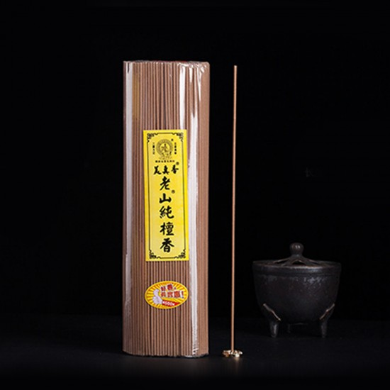 Bee Chin Heong LaoShan Pure Sandalwood Incense   27 cm