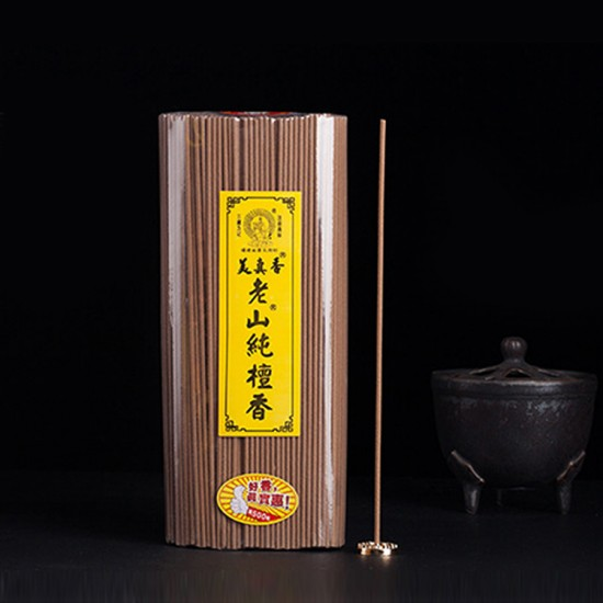 Bee Chin Heong LaoShan Pure Sandalwood Incense   21 cm