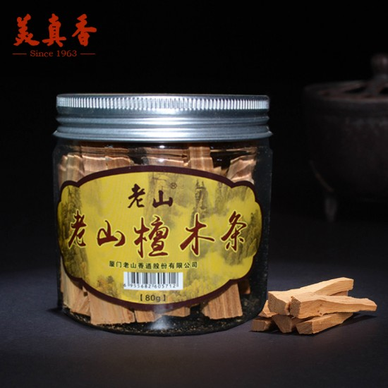Bee Chin Heong LaoShan Sandalwood Sticks   7 cm   250 g