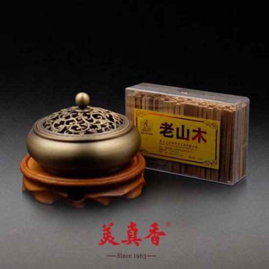 Bee Chin Heong LaoShan Sandalwood Thin Sticks | 6 cm | 120 g