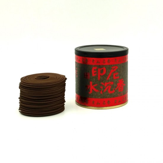 Bee Chin Heong Indonesian Agarwood Incense Coil   4 H   Qty: 48   Diameter: 6.5 cm