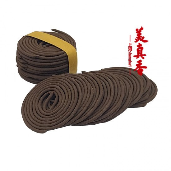 Bee Ching Heong XingZhou Agarwood Incense Coil   1.5 H   Qty: 48