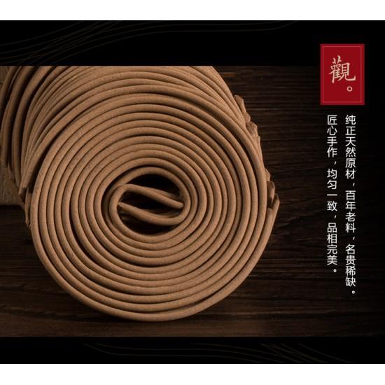 Bee Chin Heong Hui An Premium Agarwood Incense Coil | 2 H | Qty: 48