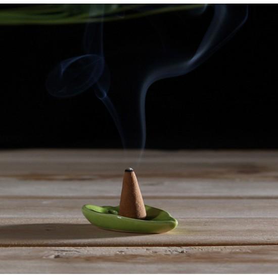 Bee Chin Heong Hexagon Agarwood Incense Cone Shape | Qty: 85
