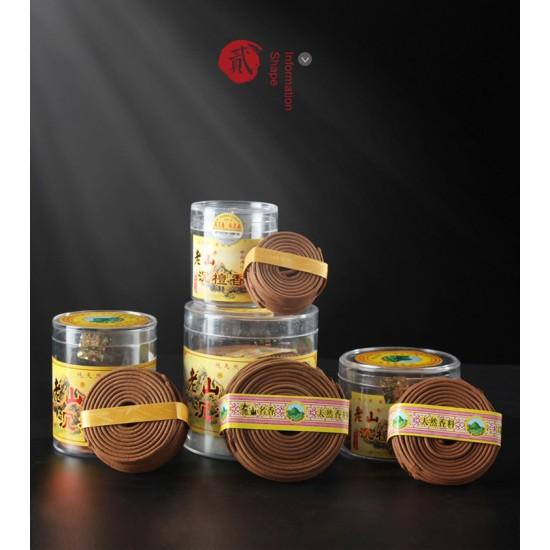 Bee Chin Heong LaoShan Agarwood Incense Coil | 3 H | Qty: 48