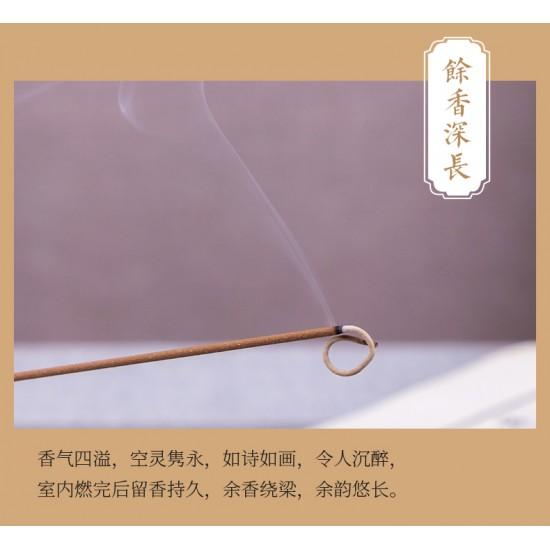 Bee Chin Heong HaiNan Bug Leak Agarwood Incense | 21 cm | 200 g