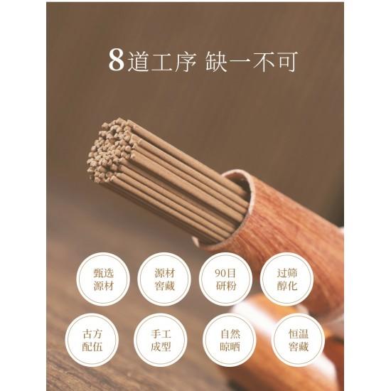 Bee Chin Heong Fu Sen Red Soil First Class Agarwood - Cellar Edition   21 cm   20 g