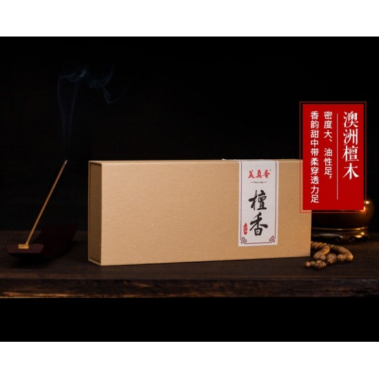 Bee Chin Heong Australian Sandalwood Incense Stick   39.5 cm   est.Qty: 585