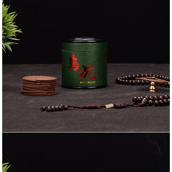 Bee Chin Heong Dark Agarwood Incense Coil | 4 H