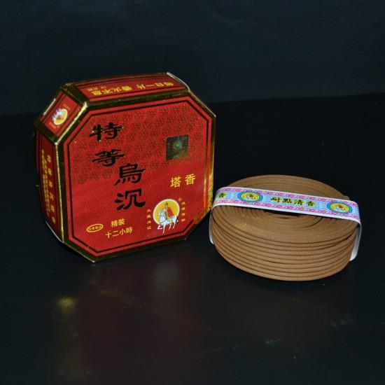 Bee Chin Heong Premium Agarwood Incense Coil   24 H   Qty: 10