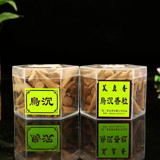 Bee Chin Heong Agarwood Incense Cone Shape | Qty: 60