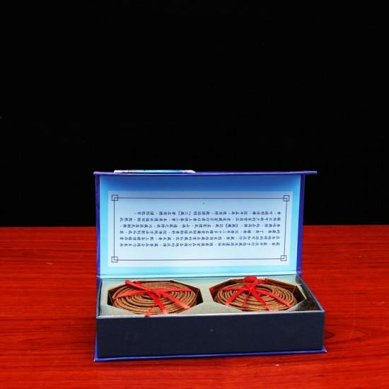 Bee Chin Heong Ancient Tibetan Incense Coil   4 H   Qty: 48