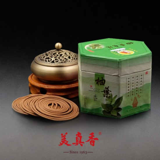 Bee Chin Heong Pomelo Leaf Incense Coil | 24 H | Qty: 24
