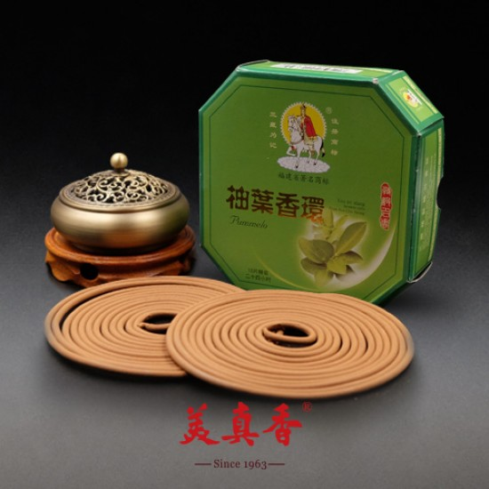 Bee Chin Heong Pomelo Leaf Incense Coil | 24 H | Qty: 10 | Special Package