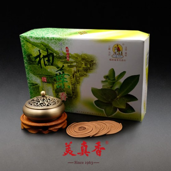 Bee Chin Heong Pomelo Leaf Incense Coil | 4 H | Qty: 240