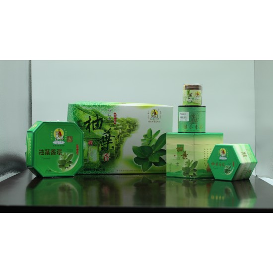 Bee Chin Heong Pomelo Leaf Incense Coil   1.5 H   Qty: 48