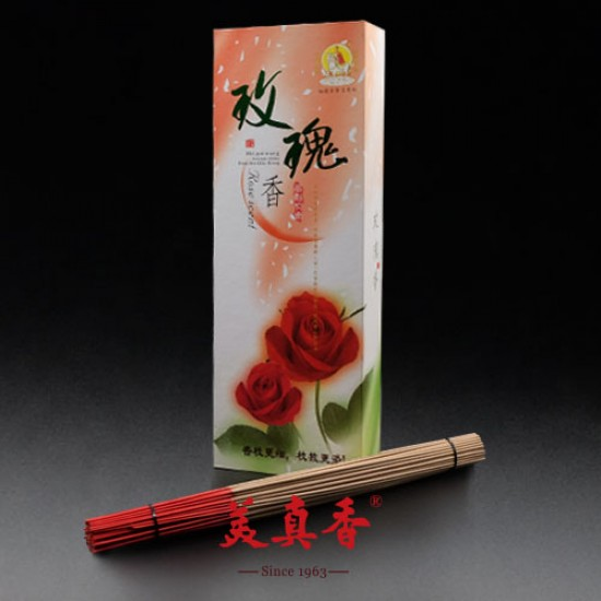 Bee Chin Heong Rose Incense Stick Gift Box | 32.5 cm | 550 g