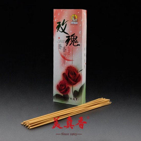 Bee Chin Heong Rose Incense   26 cm   250 g