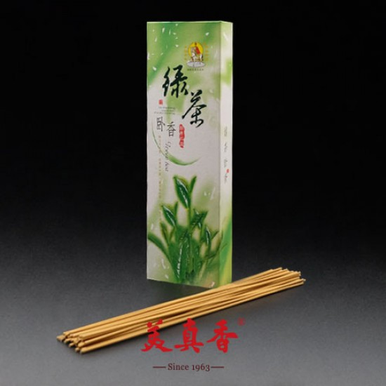 Bee Chin Heong Green Tea Incense   26 cm   250 g