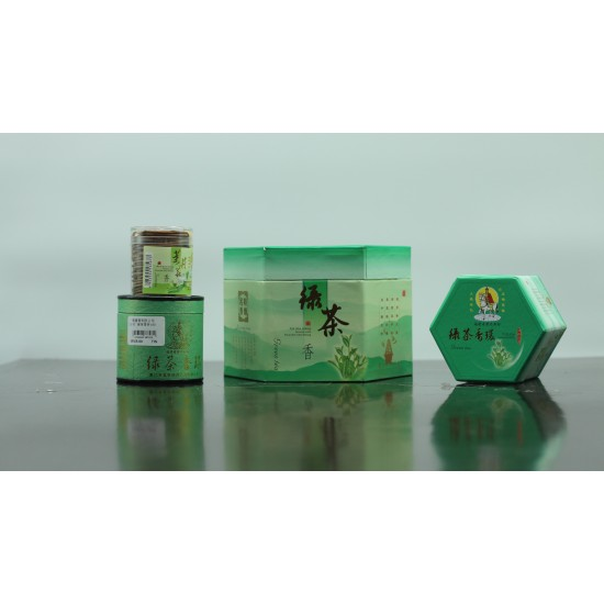Bee Chin Heong Green Tea Incense Coil | 1.5 H | Qty: 48