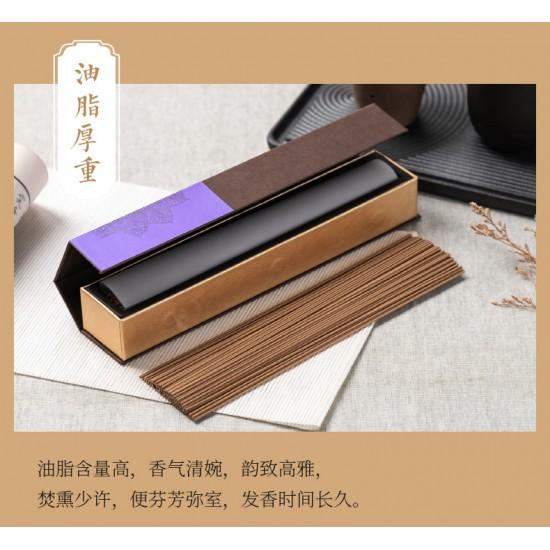 Bee Chin Heong 12Star Hainan Bug Leak Agarwood Incense   21cm   30g  est Qty: 90