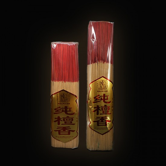 Bee Chin Heong Extra Thin Sandalwood Incense Stick   25 cm